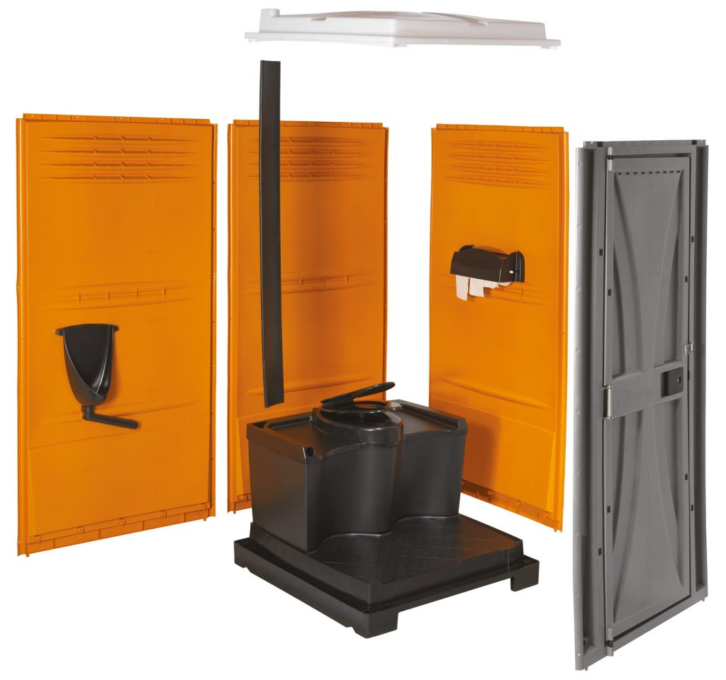Armal Cube Portable Toilet 2